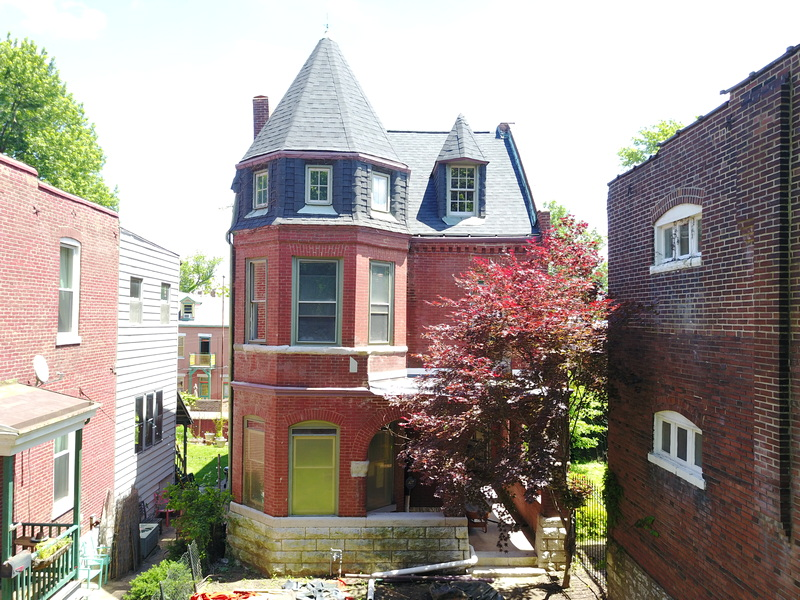 Historic 13th St Mansion, Soulard St Louis Mo Renovation & Remodel
